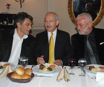 Kılıçdaroğlu, sanatçı ve yazarlarla buluştu