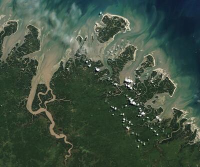 Dünya Kupası'na katılan ülkelerin en güzel uydu fotoğrafları