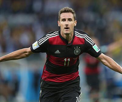 Klose Dünya Kupası'nın en çok gol atan futbolcusu oldu!
