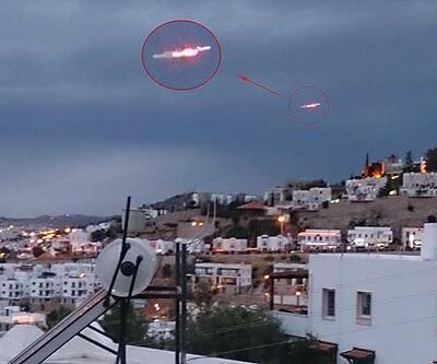 """""""Bodrum'da UFO"""" iddiası"""