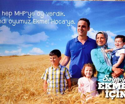İşte İhsanoğlu'nun kampanya sloganı ve logosu...