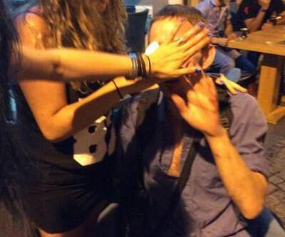 Beşiktaş'ta içki içenlere saldırı