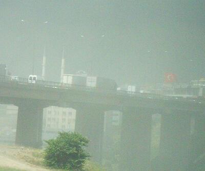 İstanbul'un üstünden fırtına geçti