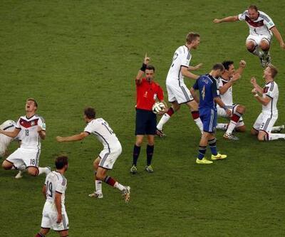 Dünya Kupası Finali: Almanya - Arjantin ... Dev finalden çarpıcı kareler