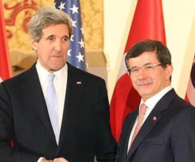 Ahmet Davutoğlu, John Kerry ile İran anlaşmasını konuştu