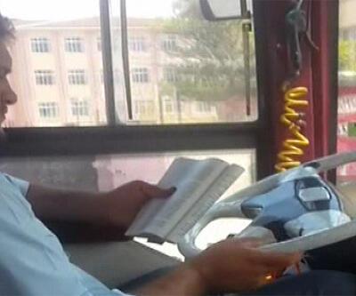 Seyir halinde kitap okuyan şoförün cezası belli oldu