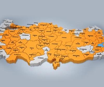 Başbakan Erdoğan'ın sitesinde yayınlanan haritada Tunceli yok