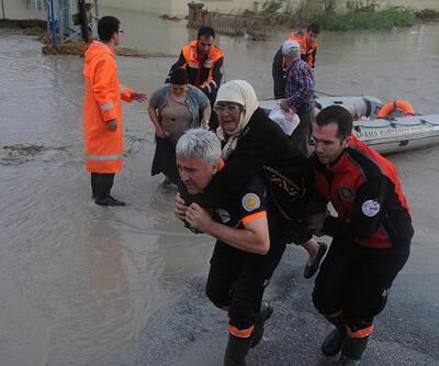 Edirne'den tufan geçti