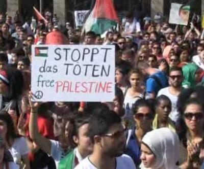 Gazze için protestolar