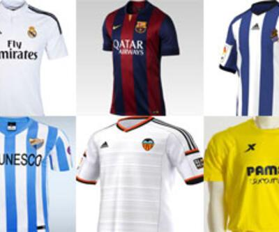 20 La Liga ekibinin yeni sezon formaları