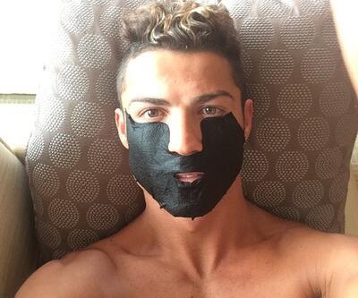 Maskeli Cristiano Ronaldo