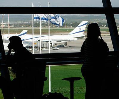 İsrail'e uçuşlar askıya alındı