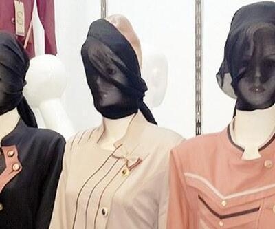 IŞİD mankenlere peçe taktı