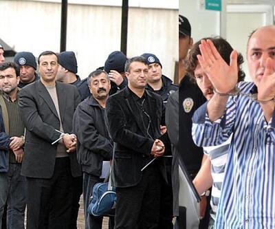 """KCK'daki """"kelepçeliler"""" polislere operasyonun görüntülerini değerlendirdi"""
