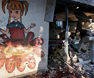 İsrail okulu vurdu: 20 kişi öldü