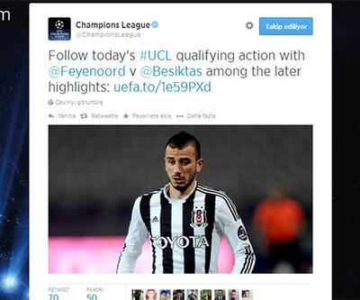 UEFA'DAN OĞUZHAN ÖZYAKUP TWEETİ