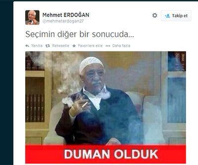 Mehmet Erdoğan'dan olay Fethullah Gülen tweeti