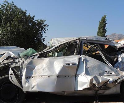 Denizli Serinhisar'da kaza: 4 ölü