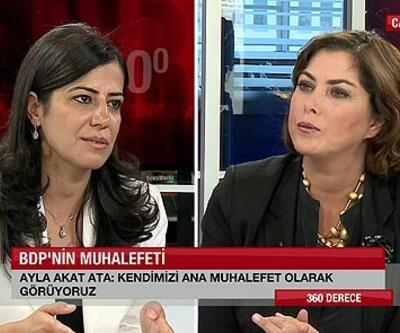 BDP'li Ayla Akat Ata'dan çarpıcı açıklama