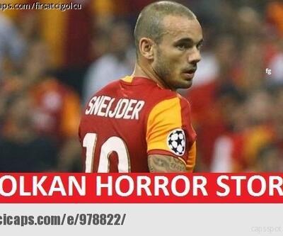 Galatasaray - Fenerbahçe maçı caps'leri