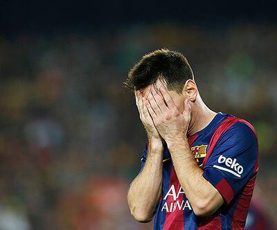 Messi oyundan çıkmayı reddetti!