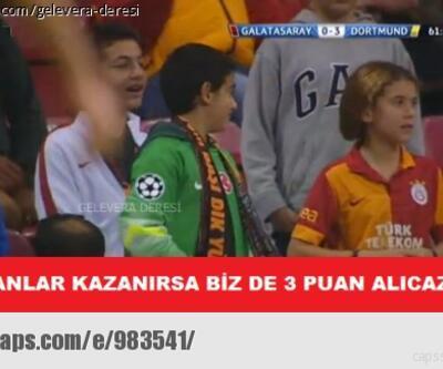 Galatasaray-Dortmund capsleri