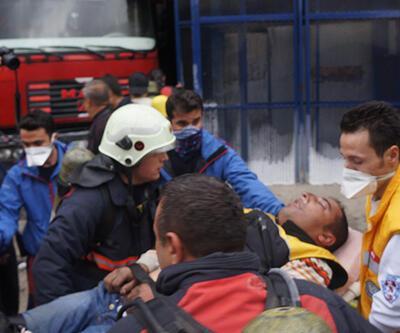 Ankara OSTİM'de patlama