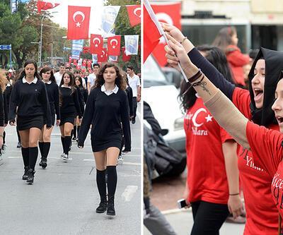 """İstanbul'dan """"29 Ekim"""" manzaraları"""