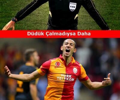Galatasaray-Kasımpaşa maçı capsleri