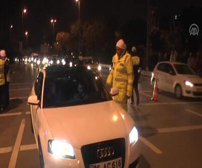 Kadıköy'de 160 araca ceza!