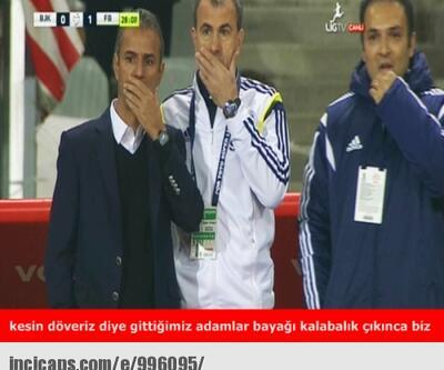 Beşiktaş - Fenerbahçe maçı capsleri
