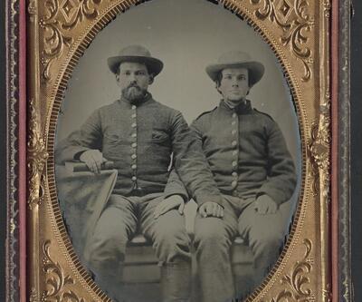 Amerikan iç savaşı öncesi askerlerin verdiği ilginç pozlar!