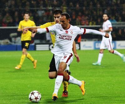 Borussia Dortmund - Galatasaray maçından kareler