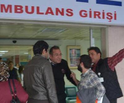 Adana'da devlet hastanesinin asansörü düştü
