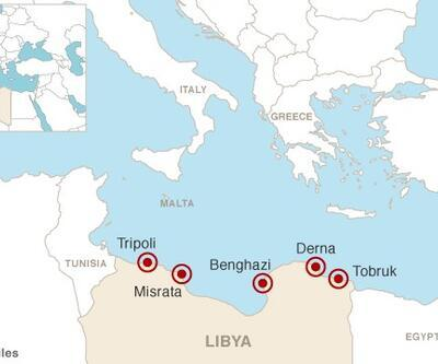 IŞİD Akdeniz'e indi!