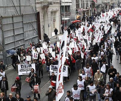 Taksim'de çuvallı Joe Biden protestosu!
