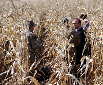 Kızıltepe'de mısır tarlasında yakılmış iki erkek cesedi bulundu