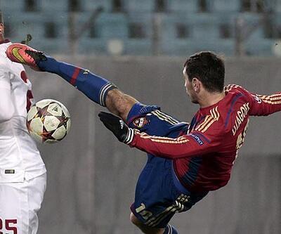 CSKA Moskova - Roma: 1-1 (Maç Özeti)