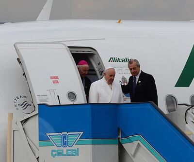 Papa Francis Türkiye'ye geldi