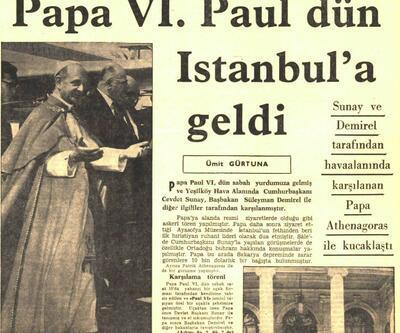 Bizans'tan sonra Ayasofya'da ilk Papa duası