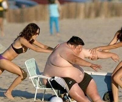 Plajlardan akıl almaz görüntüler!