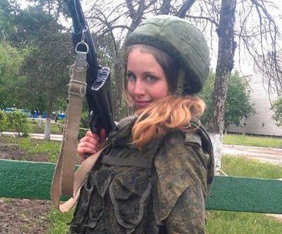 Güzel militan Rus yanlılarına katıldı