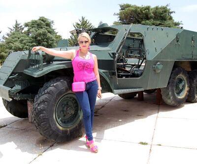 Bu tank ve toplar Mersin'i karıştırdı!