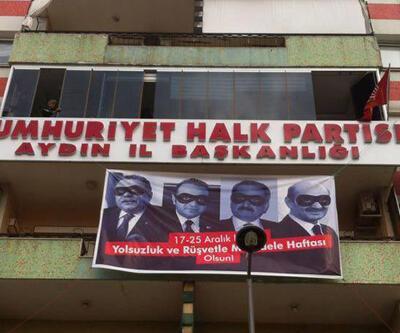 """""""17-25 Aralık rüşvetle mücadele haftası olsun' pankartına yasak"""""""