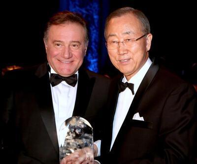 Enver Yücel'e, BM'den 'Küresel Eğitime Katkı Ödülü'
