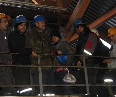 Ereğli'de yer altındaki madenci grevi büyüyor