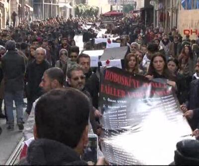 Roboski'nin 3'üncü yılında Beyoğlu'nda eylem