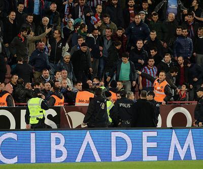 Trabzonspor taraftarından 61. dakikada İstiklal Marşı!