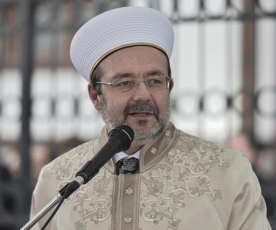 Diyanet İşleri Başkanı Mehmet Görmez'den yılbaşı mesajı