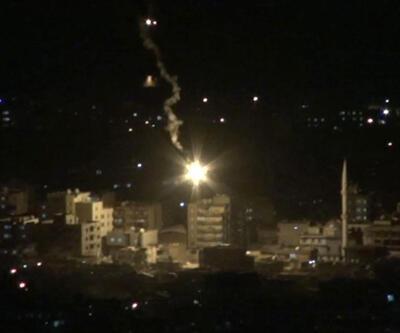 Cizre'de polis aracına roketli saldırı